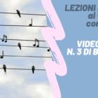 LEZIONI DA CASA – Videolezione n. 3 di batteria