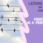 LEZIONI DA CASA – Videolezione n. 4 di batteria
