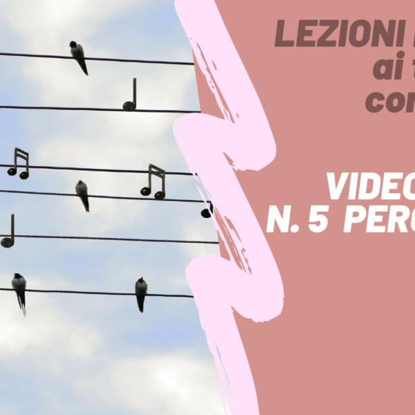 LEZIONI DA CASA – Videolezione n. 5 di batteria